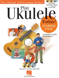 Play Ukulele Today! - Starter Pack Books, CDs and DVDs / Videos | Ukulele