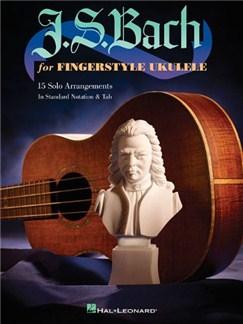 J.S. Bach For Fingerstyle Ukulele Books | Ukulele