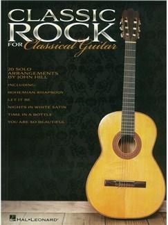 Classic Rock For Classical Guitar Books | Classical Guitar
