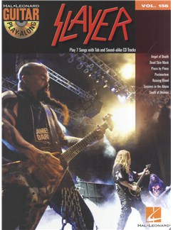 Guitar Play-Along Volume 156: Slayer Books and CDs | Guitar, Guitar Tab