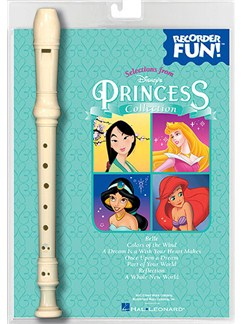 Recorder Fun! Selections From Disney's Princess Collection Books and Instruments | Recorder