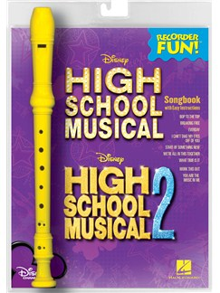 Recorder Fun! High School Musical 1 And 2 Books and Instruments | Recorder