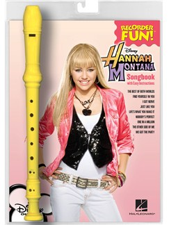 Recorder Fun! Hannah Montana: Songs From And Inspired By The Hit TV Series Books | Recorder