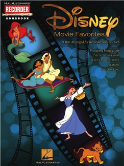 Disney Movie Favourites (Recorder) Books | Recorder