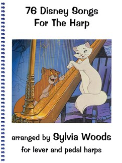 76 Disney Songs For The Harp Books | Harp