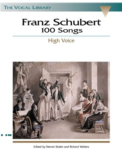 Franz Schubert: 100 Songs - High Voice Books | High Voice, Piano Accompaniment