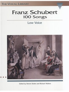Franz Schubert: 100 Songs - Low Voice Books | Low Voice