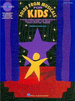 Solos From Musicals For Kids Books and CDs | Voice, Piano Accompaniment
