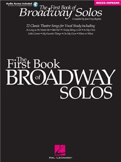 First Book Of Broadway Solos (Book/Online Audio) Books and Digital Audio | Voice