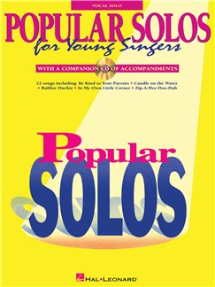 Popular Solos For Young Singers (Book/Online Audio) Books and Digital Audio | Voice, Piano Accompaniment