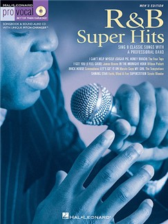 Pro Vocal Men's Edition Volume 6: R&B Super Hits Books and CDs | Voice