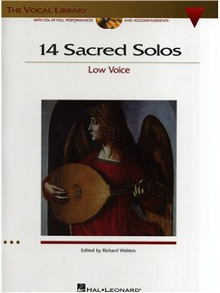 14 Sacred Solos - Low Voice (Book/Online Audio) Books and Digital Audio | Low Voice, Piano Accompaniment
