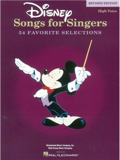 Disney Songs For Singers: High Voice - Revised Edition Books | Piano, Vocal & Guitar (with Chord Boxes)