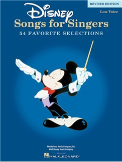 Disney Songs For Singers: Low Voice - Revised Edition Books | Piano, Vocal & Guitar