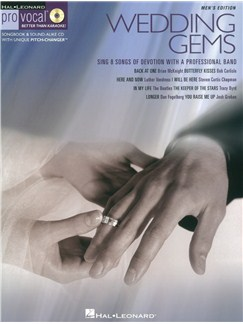 Wedding Gems - Pro Vocal Men's Edition Books and CDs | Voice