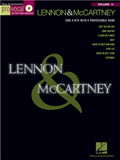Pro Vocal Volume 14: Lennon And McCartney Books and CDs | Voice