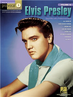 Pro Vocal Men's Edition Volume 16: Elvis Presley - Volume 2 Books and CDs | Melody Line, Lyrics & Chords