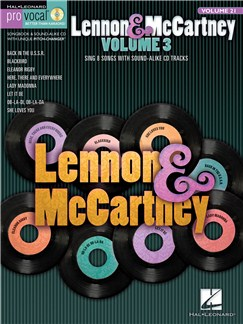 Pro Vocal Volume 21: Lennon & McCartney Books and CDs | Voice