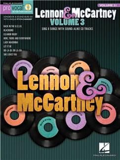 Pro Vocal Volume 21: Lennon & McCartney Bog og CD | Stemme