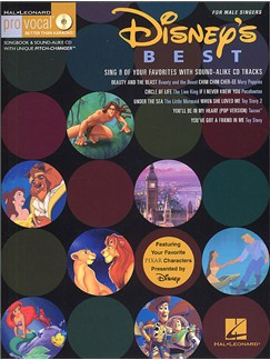Disney's Best - Men's Edition (Book and CD) Books and CDs | Melody Line, Lyrics & Chords