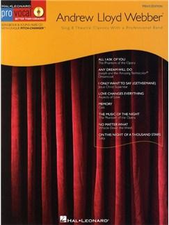Andrew Lloyd Webber (Male Singers) Books and CDs | Melody Line, Lyrics & Chords