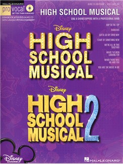 Pro Vocal Volume 28: High School Musical (Female Edition) Books and CDs | Voice
