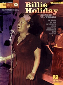 Pro Vocal Women's Edition Volume 33: Billie Holiday Books and CDs | Voice (with Chord Boxes)