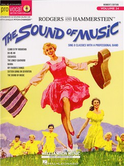 Pro Vocal Volume 34: The Sound Of Music (Women's Edition) Books and CDs | Melody Line, Lyrics & Chords