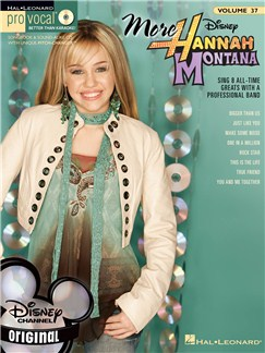 Pro Vocal Volume 37: More Hannah Montana Books and CDs | Voice