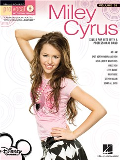 Pro Vocal Women's Edition Volume 38: Miley Cyrus Books and CDs | High Voice