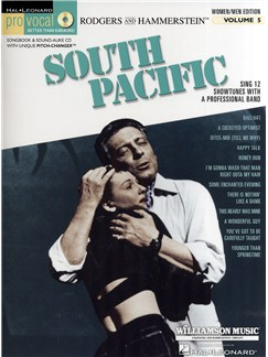 Pro Vocal Volume 5: South Pacific - Women/Men Edition Books and CDs | Voice