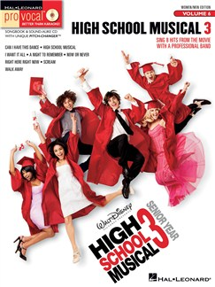 Pro Vocal Volume 6: High School Musical 3 Books and CDs | Voice