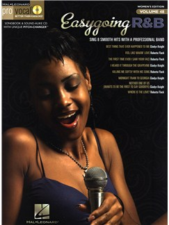 Pro Vocal Women's Edition Volume 48: Easy Going R&B Books and CDs | Melody Line, Lyrics & Chords