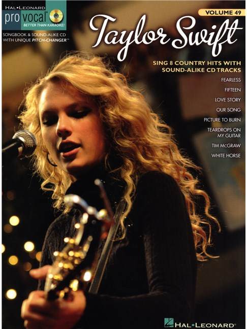 Pro Vocal Women\'s Edition Volume 49: Taylor Swift - Melody Line ...