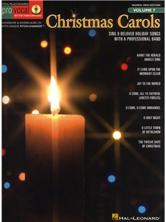 Pro Vocal Volume 7: Christmas Carols Books and CDs | Voice