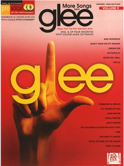 Pro Vocal Women/Men Edition Volume 9: More Songs From Glee Books and CDs   Melody Line, Lyrics & Chords