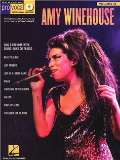 Pro Vocal Women's Edition Volume 55: Amy Winehouse Books and CDs | Melody Line, Lyrics & Chords