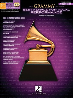 The Grammy Awards: Best Female Pop Vocal Performance 1990-1999 Books and CDs   Voice