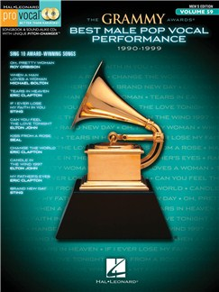 The Grammy Awards: Best Male Pop Vocal Performance 1990-1999 Books and CDs | Voice