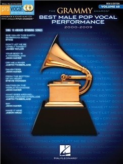 The Grammy Awards: Best Male Pop Vocal Performance 2000-2009 Books and CDs | Voice