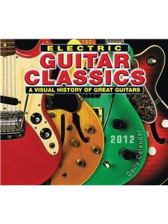 Electric Guitar Classics 2012 Daily Boxed Calendar  |