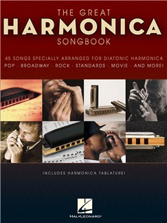 The Great Harmonica Songbook Livre | Harmonica