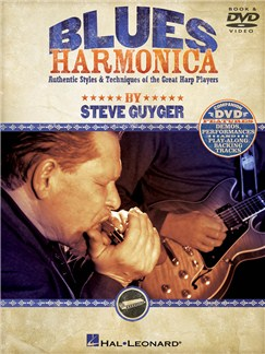 Steve Guyger: Blues Harmonica Books and DVDs / Videos | Harmonica