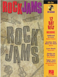Rock Jams (Alto Saxophone) Books and CDs | Alto Saxophone