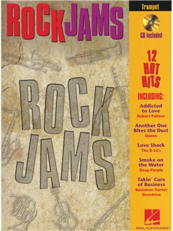 Rock Jams (Trumpet) Books and CDs | Trumpet