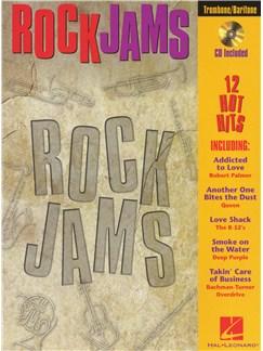 Rock Jams (Baritone/Trombone) Books and CDs | Trombone