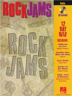 Rock Jams (Violin) Books and CDs | Violin