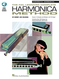 The Complete Harmonica Method: Chromatic (Book/Online Audio) Books and Digital Audio | Harmonica