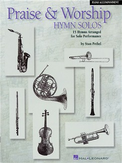 Praise And Worship Hymn Solos - Piano Accompaniment Books | Piano Accompaniment