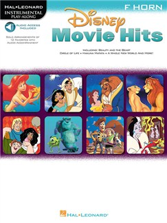 Disney Movie Hits (Horn) (Book/Online Audio) Books and Digital Audio | Horn